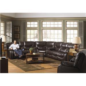 Catnapper Arlington Power Reclining Sectional Sofa