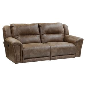 Catnapper Collin Power Lay Flat Reclining Sofa