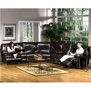 Catnapper Cortez Reclining Sectional Sofa