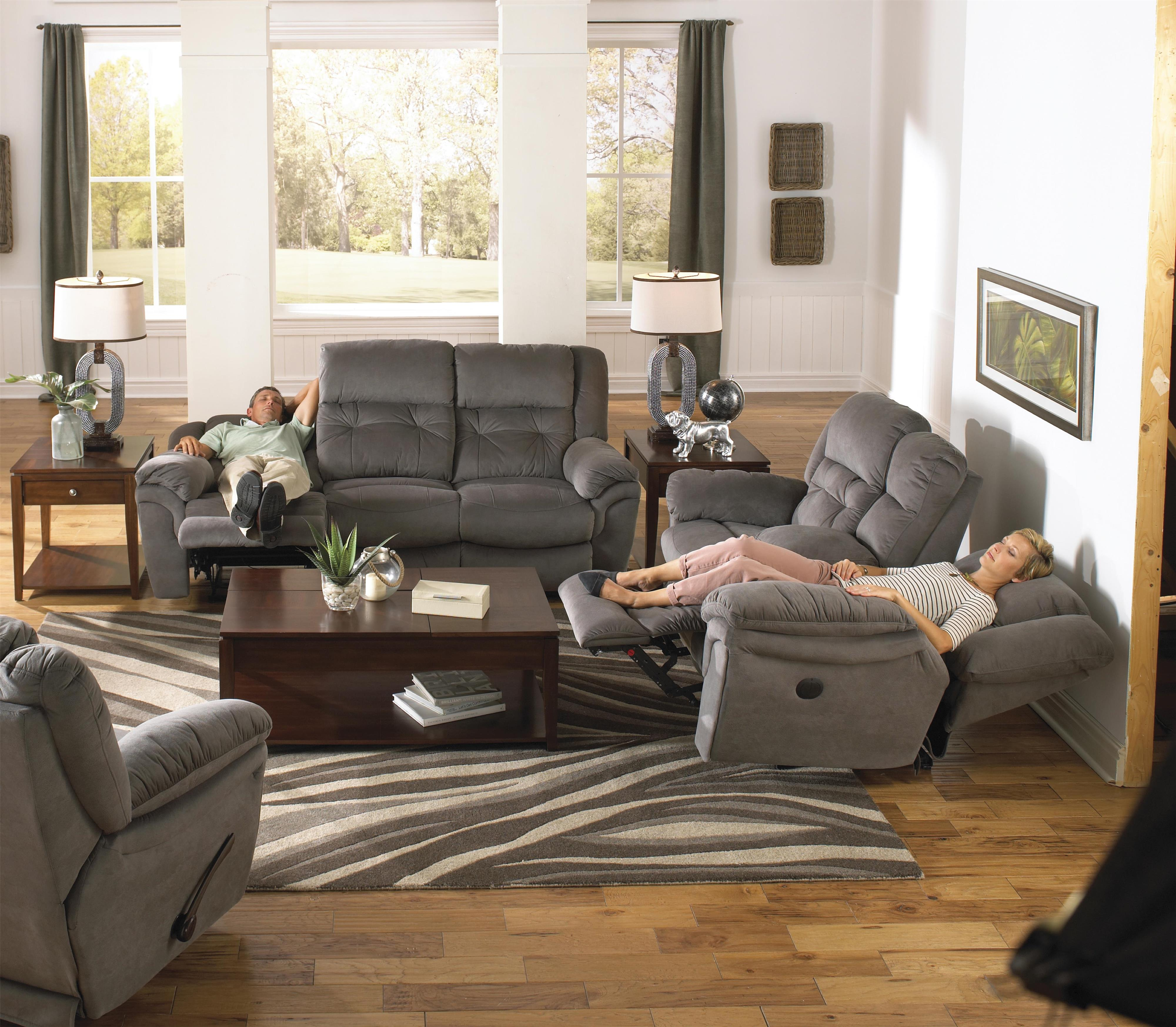 Power reclining sofa with drop down table by catnapper wolf and power reclining sofa with drop down table geotapseo Choice Image