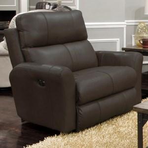 Voice-Controlled Power Lay Flat Recliner with Headrest and Lumbar Support