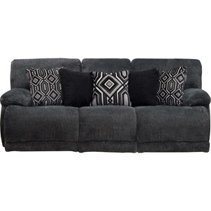Power Lay Flat Reclining Sofa with USB Port