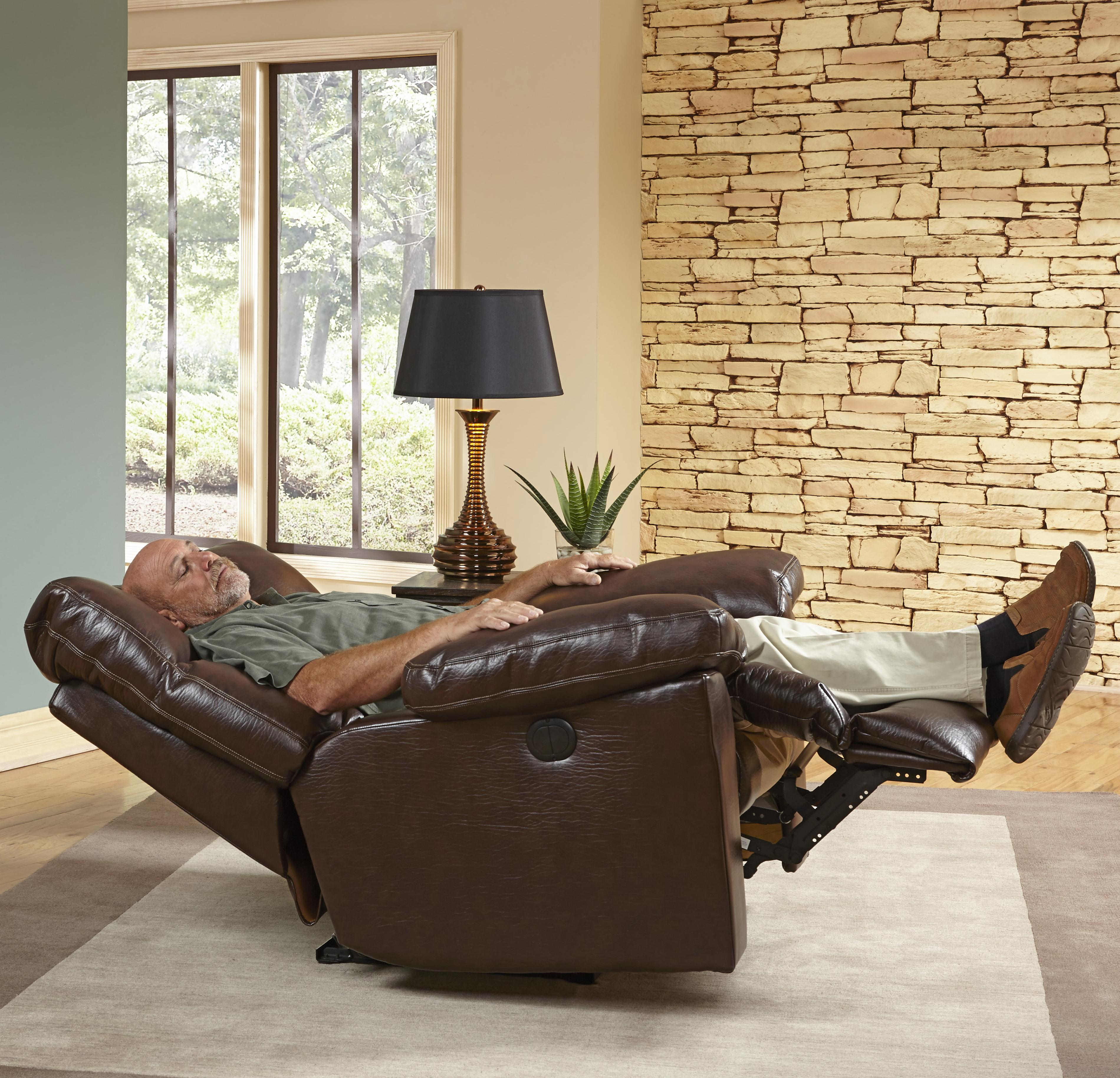 Griffey Power Lay Flat Recliner By Catnapper Wolf Furniture