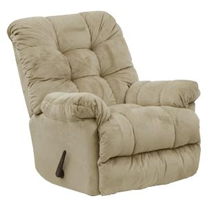 Catnapper Motion Chairs and Recliners Nettles Rocker Recliner with Heat & Massage