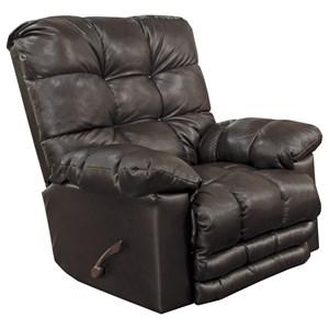 Rocker Recliner with Extra Comfort Footrest