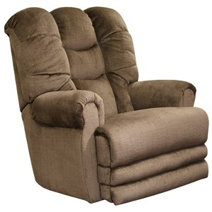 Power Lay-Flat Recliner with Extension Ottoman