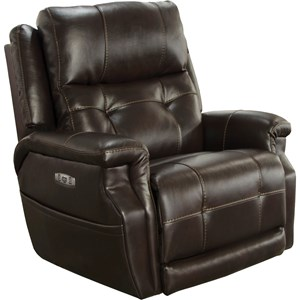 Kepley Power Headrest Lay Flat Recliner with Extended Ottoman and Lumbar