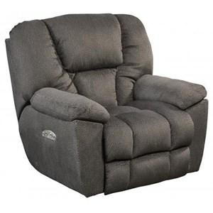 Owens Power Headrest Lay Flat Recliner with Lumbar