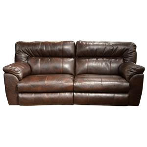 Catnapper Nolan  Power Extra Wide Reclining Sofa