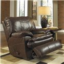 Catnapper Perez Power Rocker Recliner with Pillow Topped Cushions - Recliner Shown May Not Represent Exact Features Indicated