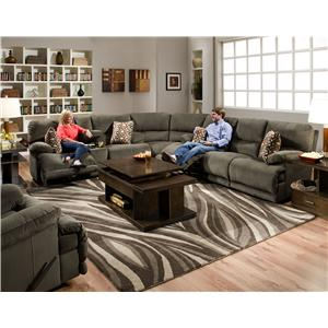 Catnapper Riley Reclining Sectional