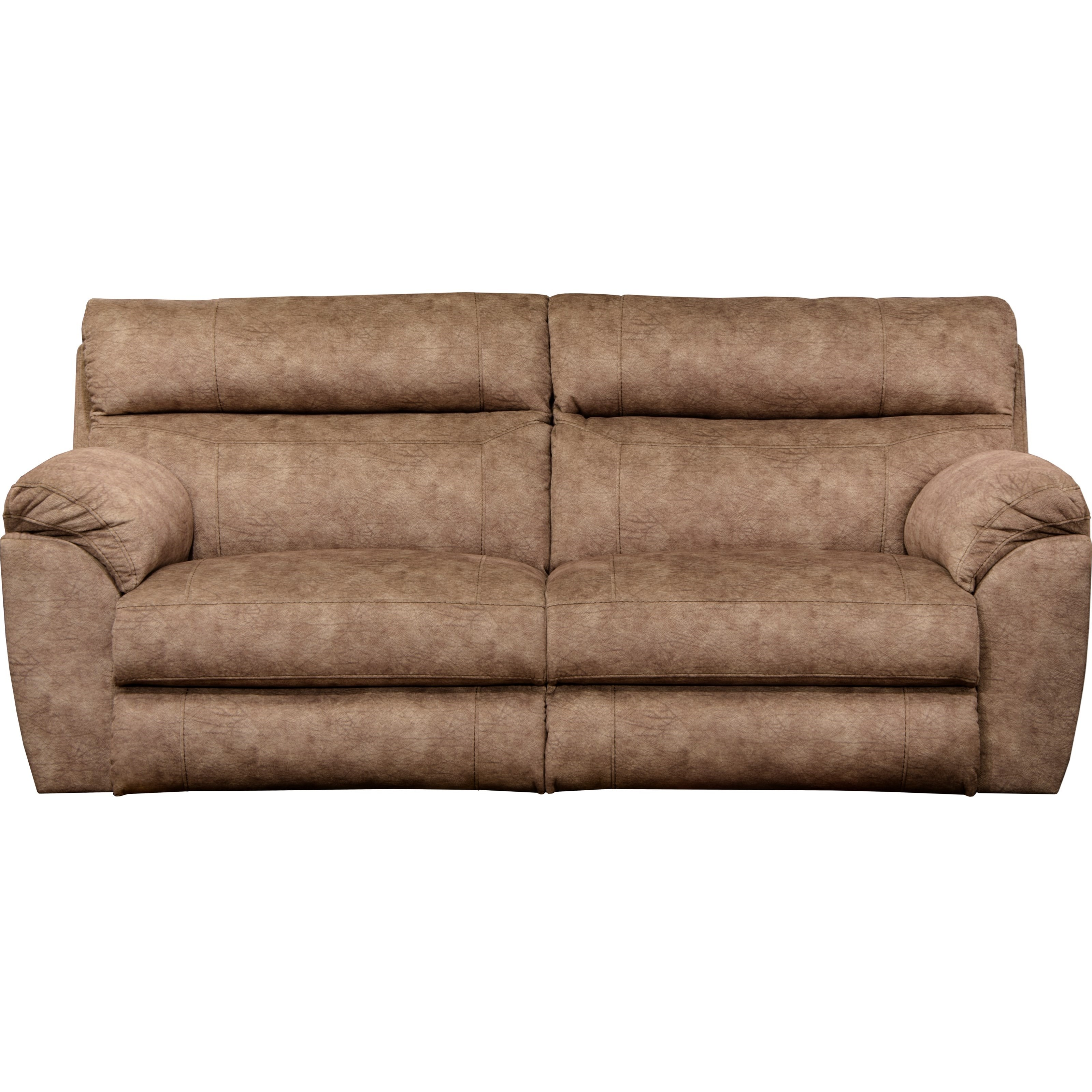 Power Lay Flat Reclining Sofa With Power Headrests And