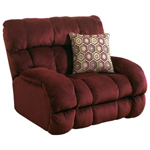 Lay Flat Recliner with Extra Wide Seat