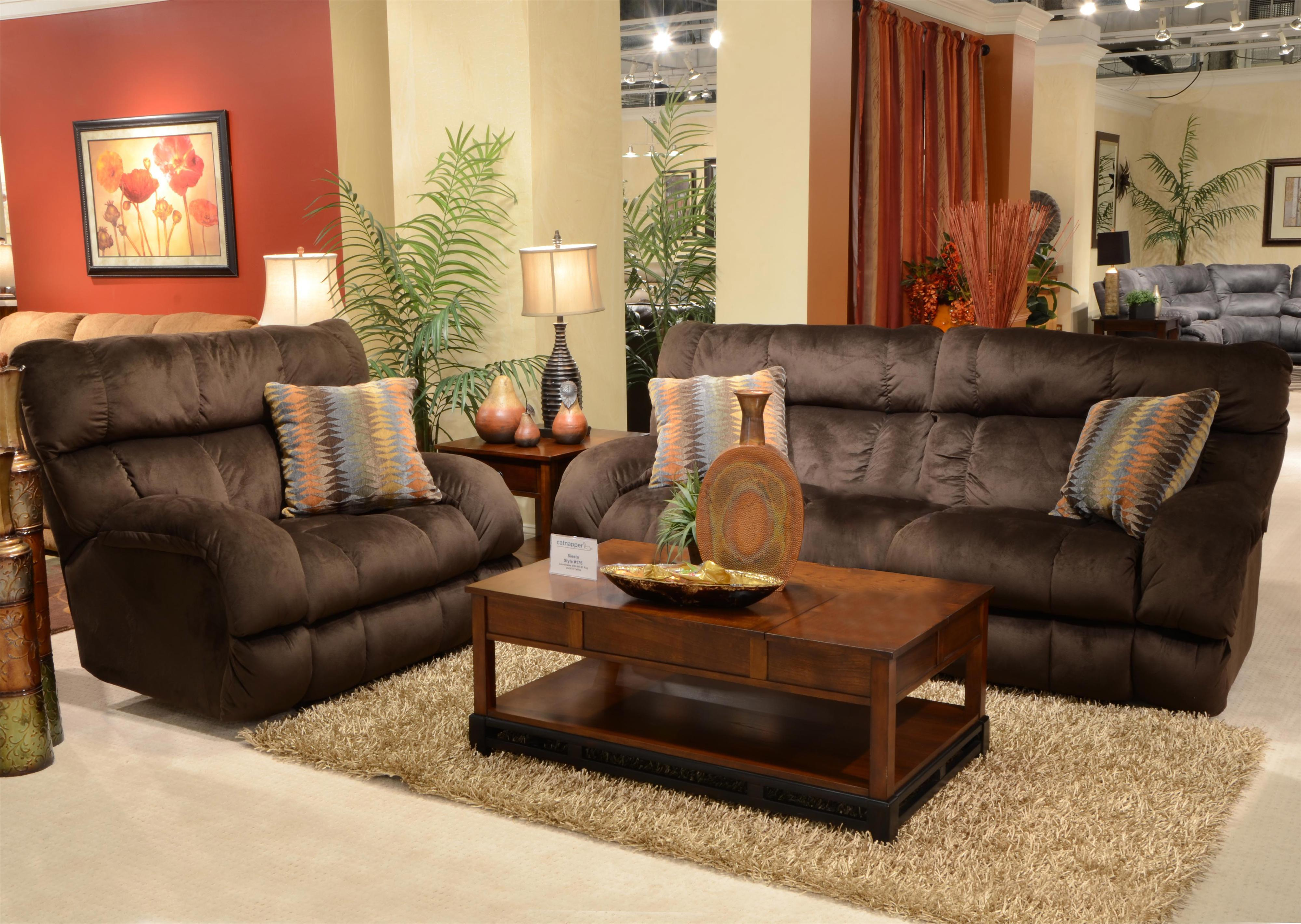 Power Lay Flat Reclining Sofa With Wide Seats By Catnapper Wolf  ~ Lay Flat Reclining Sofa