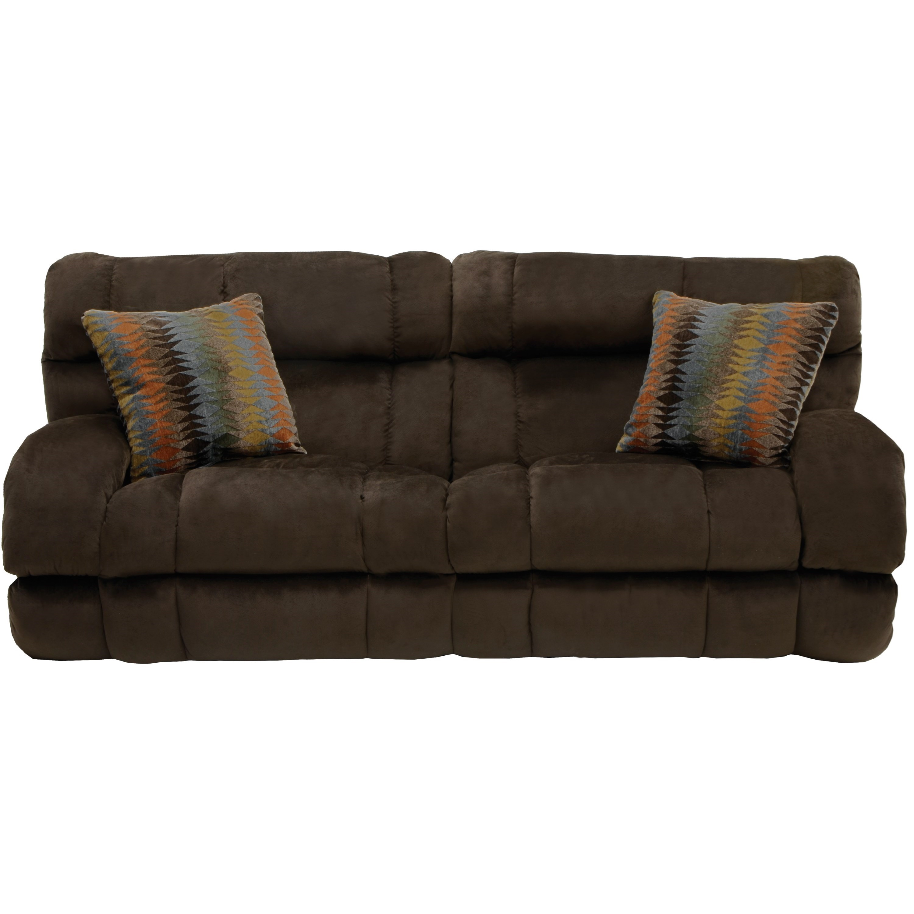 Queen Sleeper Sofa With Extra Wide Seats By Catnapper