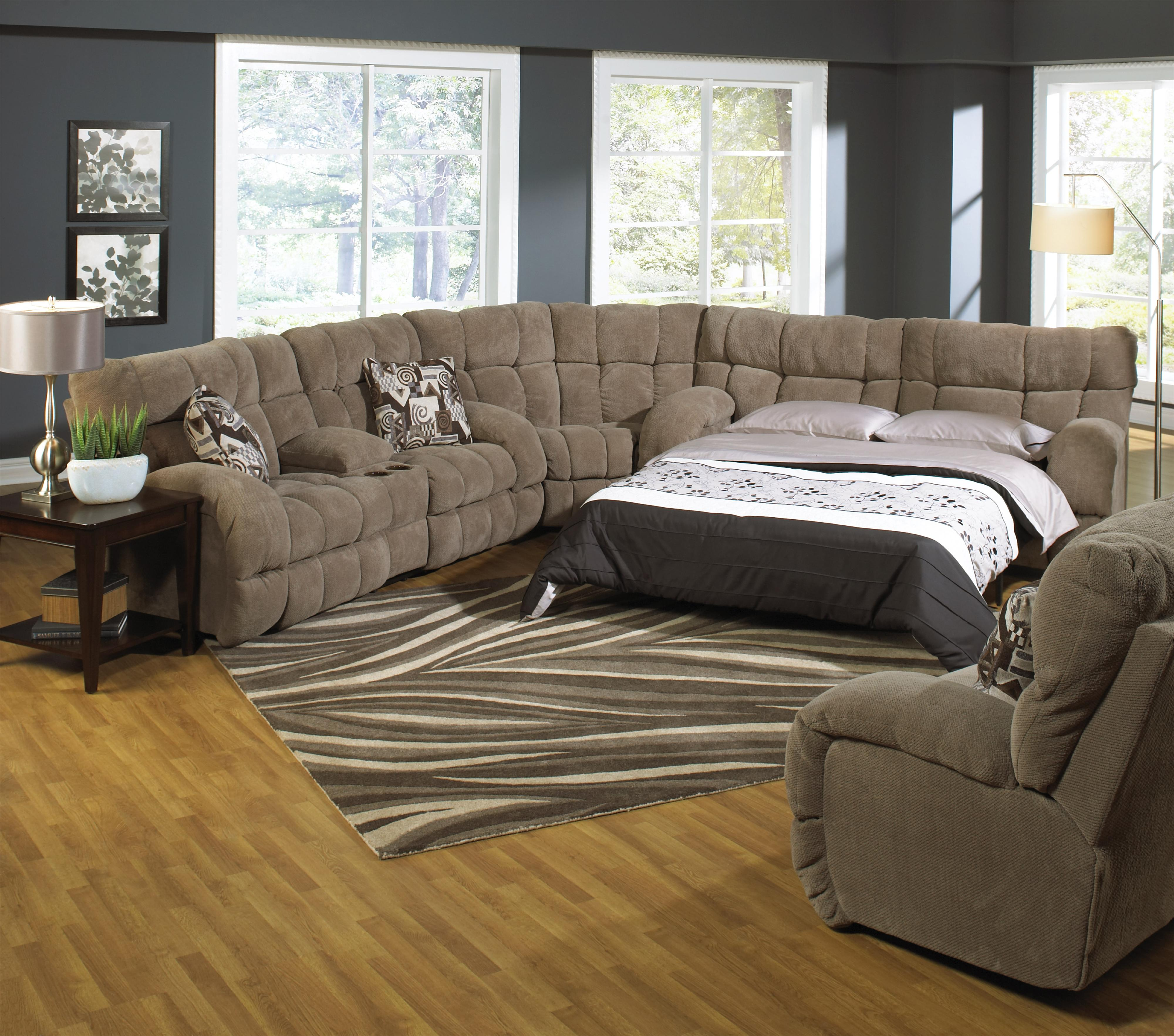 sectional best detail sleeper for the money reclining sofa