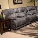 in.Lay Flatin. Reclining Console Loveseat