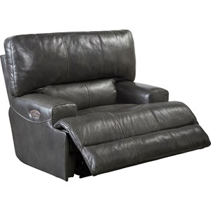 Power Lay Flat Recliner with Power Headrest