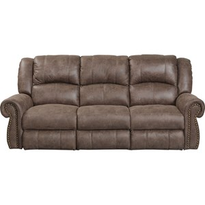 Power Reclining Sofa with USB Port