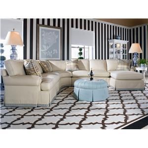 Century 2000 Eight Step Custom Customizable Sectional Sofa