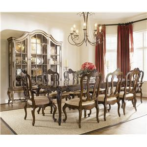 Century Coeur De France Table and Chair Set