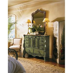 Century Coeur De France Master Chest with Drawers