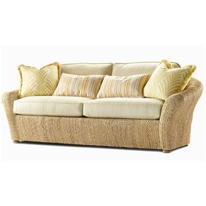 Century Elegance  Water Hyacinth Sofa