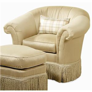 Century Elegance  Swivel Upholstered Chair