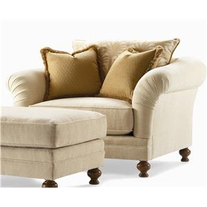 Century Elegance  Upholstered Chair