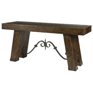 Century Marbella 661 Vintners Console Table