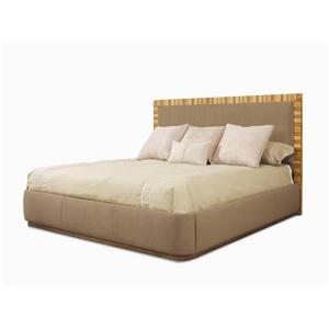 Century Milan Upholstered Panel Bed