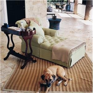 Century Oscar de la Renta Home Upholstered Chaise