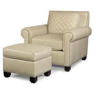 Century PLR-57  Chair & Ottoman
