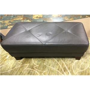 Chateau D'Ax C486 All Leather Cocktail Ottoman