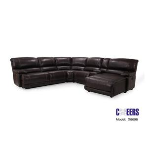 Cheers Sofa Reclining Sectionals Reclining Sectional