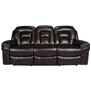 Morris Home Furnishings Derek Derek Power Leath-aire Reclining Sofa