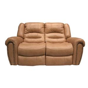 Cheers Sofa 8295 Leather Reclining Loveseat