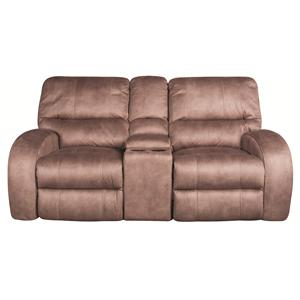 Morris Home Furnishings Caiden Caiden 3-Piece Glider Reclining Loveseat