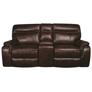 Morris Home Furnishings Curtis Curtis Loveseat with Console