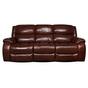 Morris Home Furnishings Ralph Ralph Dual Power Reclining Sofa
