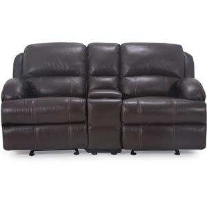Vendor 44 UXW8626M Reclining Loveseat with Console