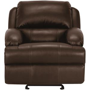 Vendor 44 UXW8626M Leather Glider Recliner
