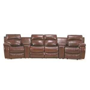 Vendor 44 UXM8812M Reclining Sectional Group