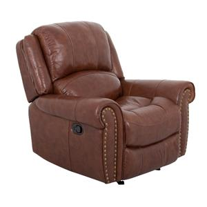 Cheers Sofa UXW9888 Saddle Leather Recliner
