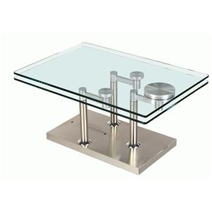 Chintaly Imports 8164 Rectangular Motion Table