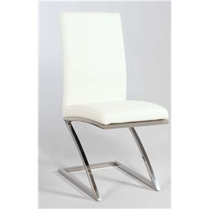 """Chintaly Imports Jade """"Z"""" Frame Side Chair"""