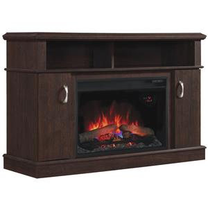 "ClassicFlame Dwell 26"" Media Fireplace Mantel"