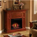 ClassicFlame Metropolis Dual Mantel Electric Fireplace - Shown used in corner