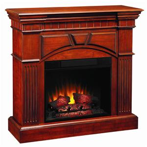 ClassicFlame Raleigh Cherry 23 Inch Electric Wall Mantel Fireplace