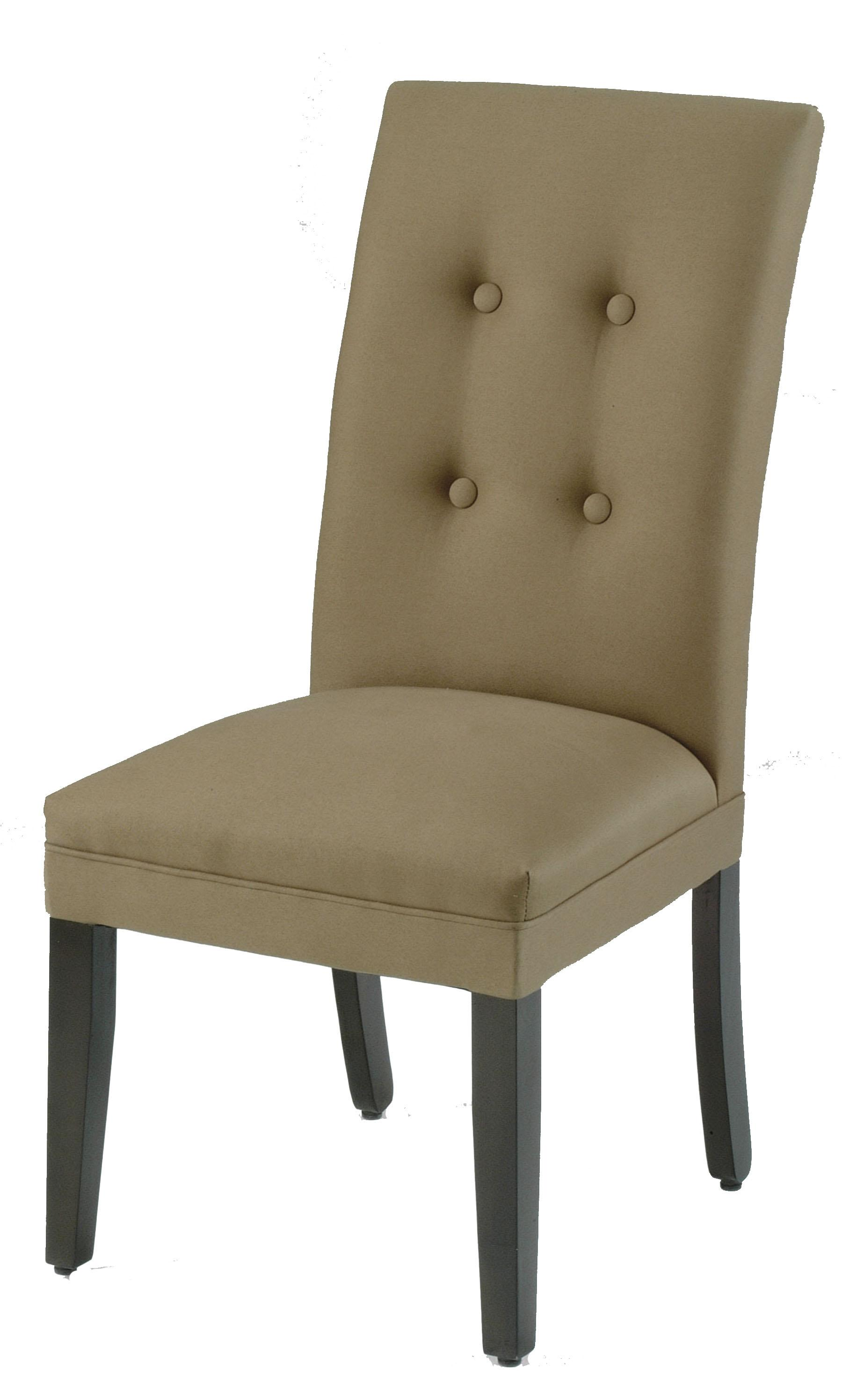 Upholstered Parson Chair with Skirt by CMI